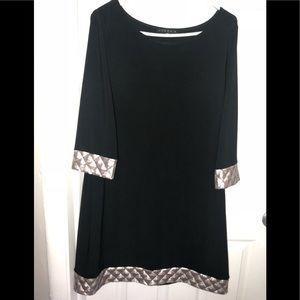TIANA B BLACK DRESS